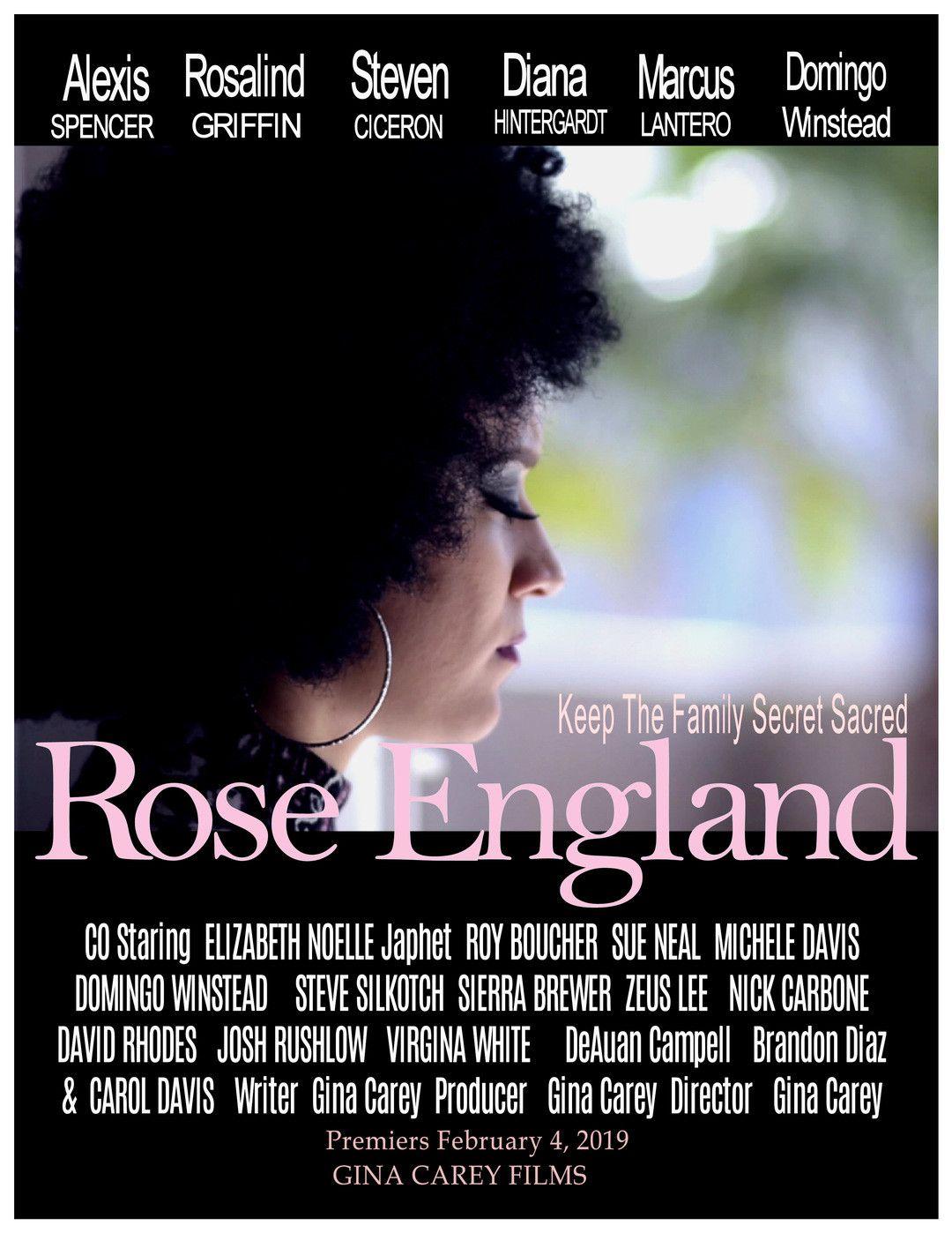 Роуз Инглэнд / Rose England / 2019